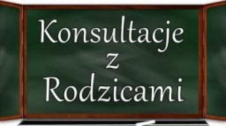 Konsultacje indywidualne nauczycieli w roku szkolnym 2018/19