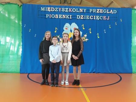 Wiosenny Międzyszkolny Konkurs Piosenki Dziecięcej w Okalewie