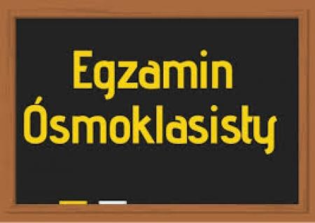 Dowozy uczniów na Egzamin Ósmoklasisty w dniach 15-17.04.2019r.