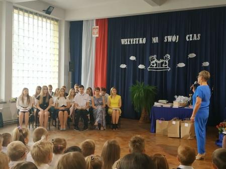 Uroczyste zakończenie roku szkolnego 2018/19