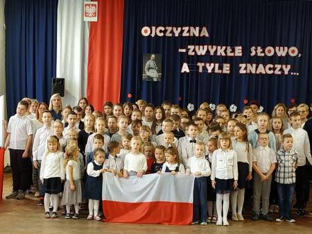 Akcja: Szkoła do hymnu