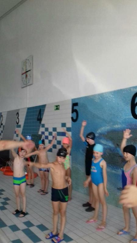 Wyjazdy na basen w ramach projektu: Umiem pływać
