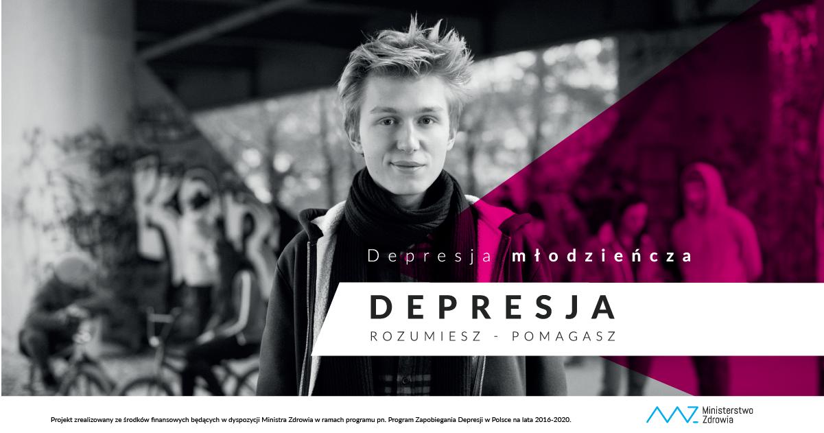 """Kampania edukacyjno-informacyjna """"Depresja. Rozumiesz – Pomagasz"""""""