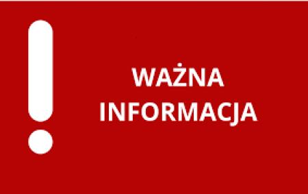 Informacja o odwozach w dniu 29.09.2021